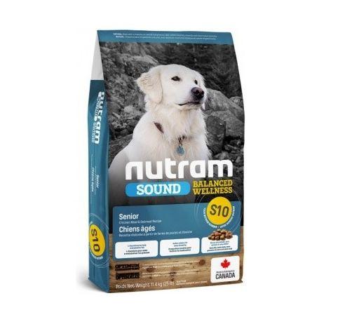 NUTRAM SOUND SENIOR S10 FOR DOG 11,4 kg