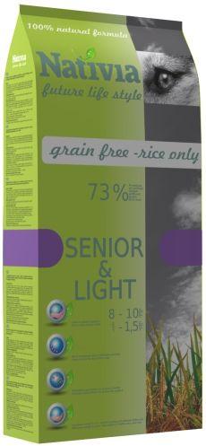 NATIVIA SENIOR LIGHT 15 kg