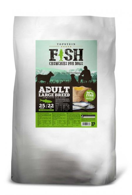 TOPSTEIN FISH ADULT LARGE BREED 15 kg
