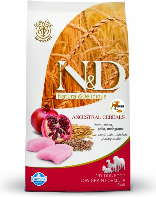 N&D LOW GRAIN ADULT MINI CHICKEN 7kg