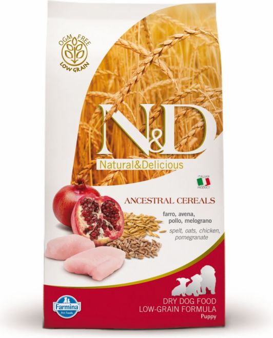 N&D LOW GRAIN DOG PUPPY CHICKEN 2x12kg
