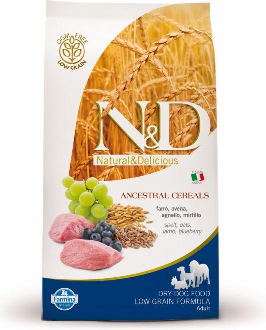 N&D LOW GRAIN DOG ADULT LAMB 2x12kg