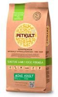 PETKULT DOG MINI ADULT LAMB/RICE 2x12kg