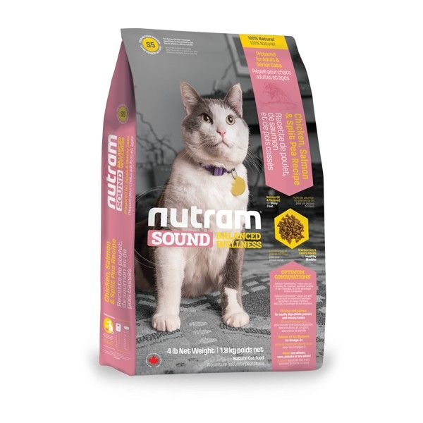 NUTRAM SOUND ADULT/SENIOR CAT 1,8kg