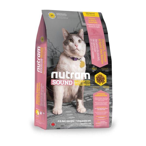 NUTRAM SOUND ADULT/SENIOR CAT 1,8kg