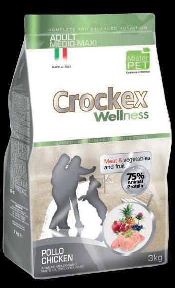 CROCKEX ADULT MEDIUM MAXI CHICKEN 2x12kg