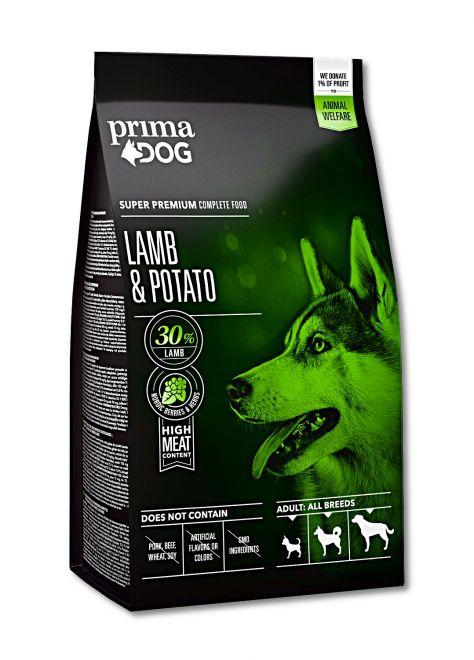 PRIMA DOG ADULT ALL BREED LAMB 12kg