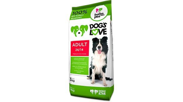KOCKA NENI PES DOGS LOVE ADULT 2x10kg