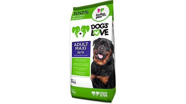 KOCKA NENI PES DOGS LOVE ADULT MAXI 10kg