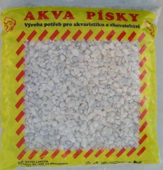 AKVARIJNÝ PIESOK AKVA Č. 2 BIELY 4-6 mm